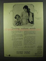 1922 Ivory Soap Ad - Teaching Without Words