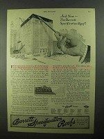 1922 Barrett Specification Roofs Ad - And Now