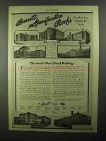 1922 Barrett Specification Roofs Ad - Cleveland School
