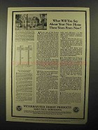 1922 Weyerhaeuser Forest Products Ad - Your New Home