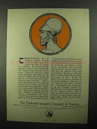 1922 Prudential Insurance Ad - Themistocles