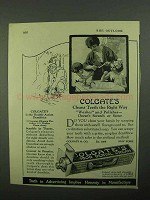 1922 Colgate's Toothpaste Ad - Cleans Teeth Right Way
