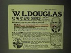 1922 W.L. Douglas Shoes Ad