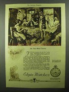 1921 Elgin Corsican Series Watch Ad - The First Factory