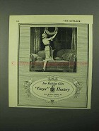 1921 Onyx Hosiery Ad - For Holiday Gifts