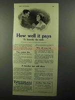 1920 Pepsodent Toothpaste Ad - How Well It Pays