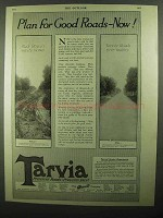 1920 Barrett Tarvia Ad - Plan For Good Roads Now