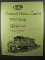 1920 GMC General Motors Trucks Ad - Inter-City Hauling