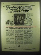 1920 Packard Motor Car Ad - The Fuel-izer