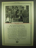 1920 Old Colony Trust Company Ad - New England