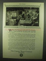 1920 Old Colony Trust Company Ad - Weight and Quality