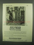 1920 ARCO Wand Vacuum Cleaner Ad