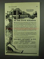 1920 Halsey, Stuart Ad - In the City's Kitchens