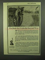 1920 The National Shawmut Bank of Boston Ad - Links