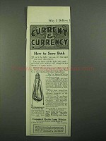 1918 G.E. Hylo Mazda Lamp Ad - Current & Currency