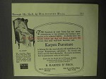 1918 Karpen Furniture No. 6161W Queen Anne Chair Ad