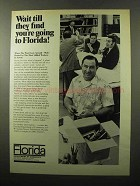 1970 Florida Department of Commerce Ad - Wait Till