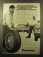 1970 Firestone Sup-R-Belt Tires Ad - Ordinary Drivers