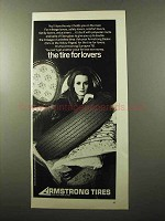 1970 Armstrong Surveyor 78 Tire Ad - For Lovers