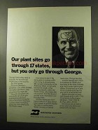 1970 Burlington Northern Railway Ad - Our Plant Sites