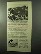 1970 Questar 3 1/2 and 7 Telescopes Ad - Repeating