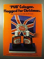 1970 Pub Cologne and After-Shave Ad - For Christmas