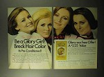 1970 Breck Hair Color Ad - Be a Glory Girl