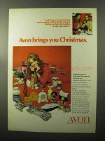 1970 Avon Products Ad - Brings You Christmas