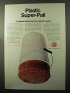1970 Phillips 66 Oil Ad - Plastic Super-Pail