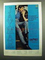 1970 Jaymar Slacks Ad - It's Patented! Guaranteed!