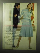 1970 Sears Fashion Ad - Laughing, Weeping, Wanting
