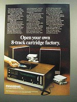 1970 Panasonic 8-Track Stereo Cartridge RS-820S Ad