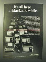 1970 Panasonic Line of Television Sets Ad - All Here