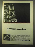 1970 Shure V-15 Type II Trackability Phono Cartridge Ad - Pear Tree