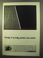 1970 Shure V-15 Type II Trackability Phono Cartridge Ad
