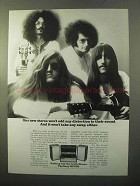 1970 Sony HP580 Stereo Ad - Won't Add Distortion