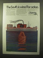 1970 The Southern Company Ad - Wired for Action