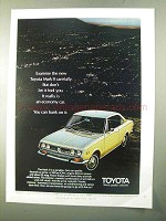 1970 Toyota Mark II Car Ad - Examine Carefully