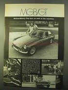1970 MG MGB/GT Ad - Extraordinary