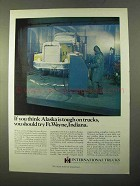 1970 International Harvester Trucks Ad - Alaska Tough