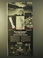 1970 Canon FT-QL Camera Ad - Shoot the Biosphere