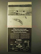 1970 Canon FT-QL Camera Ad - More Point of View