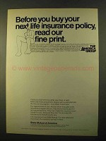 1970 State Mutual of America Ad - Insurance Policy