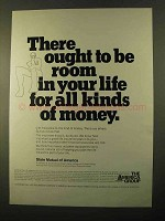 1970 State Mutual of America Ad - All Kinds of Money