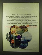 1970 Japan Air Lines Ad - Fly The Atlantic On