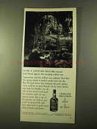 1970 Jack Daniel's Whiskey Ad - Over a Century Ago