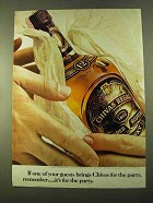 1970 Chivas Regal Scotch Ad - If Guests Bring for Party