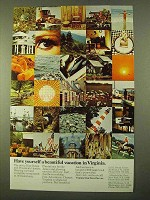 1970 Virginia Tourism Ad - Have A Beautiful Vacation