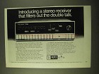 1970 Altec Lansing 714A AM/FM Stereo Receiver Ad