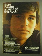 1970 Prudential Life Insurance Ad - I've Got a Piece